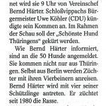 2021-08-05 Edle Spürnasen in Schloßvippach