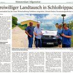 2021-08-07 Freiwilliger Landtausch in Schloßvippach